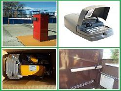 Automatismos para puertas automáticas y barreras de carretera.