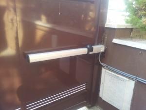 Automatismo puerta automática