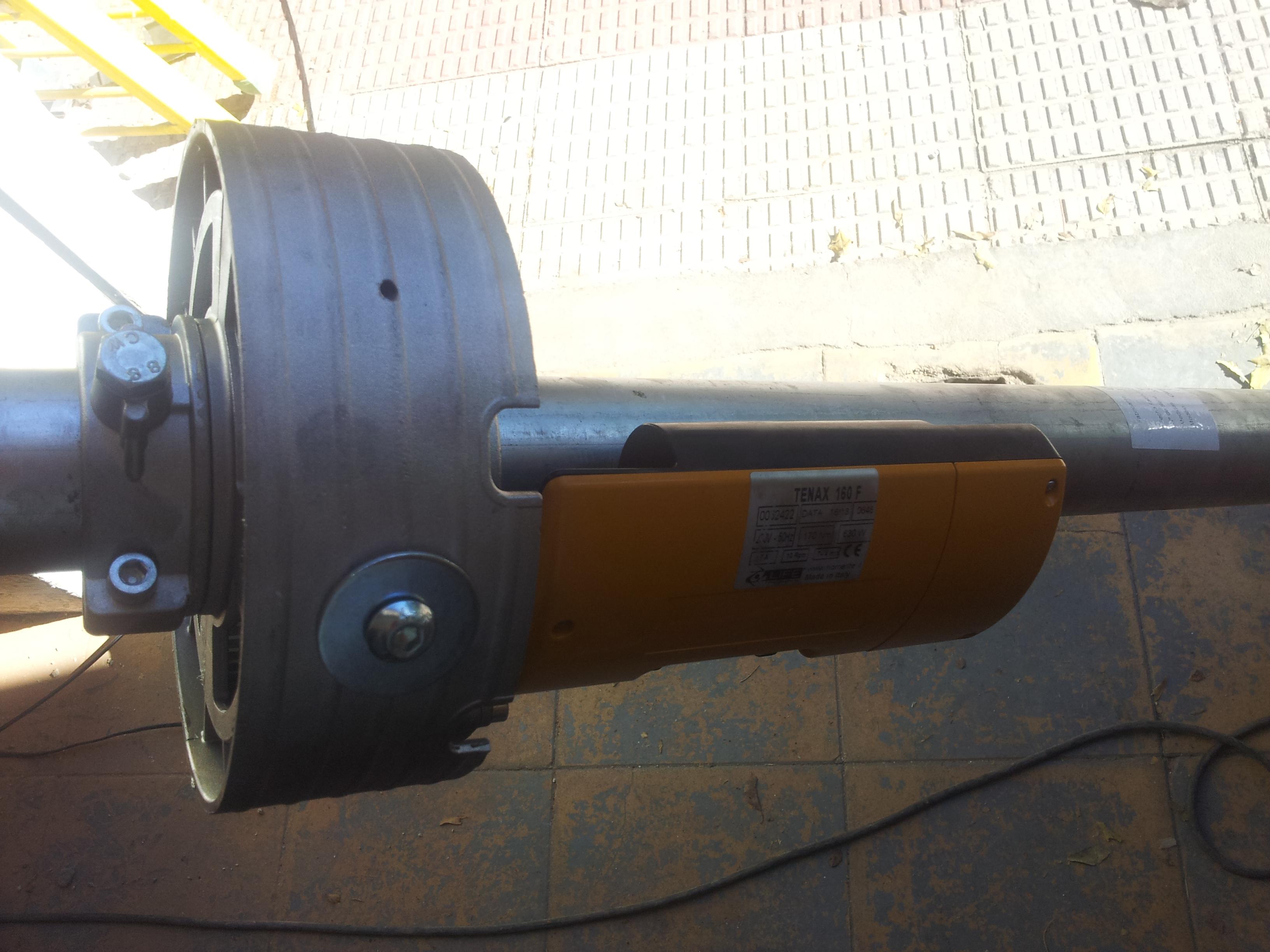 Motor pre instalado cierre