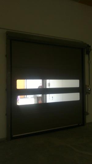 Puerta rápida de laboratorio
