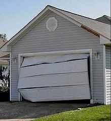 Recambio de puerta seccional