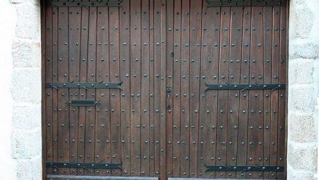 Puerta manual