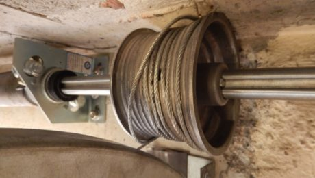 Cable roto de puerta de garaje