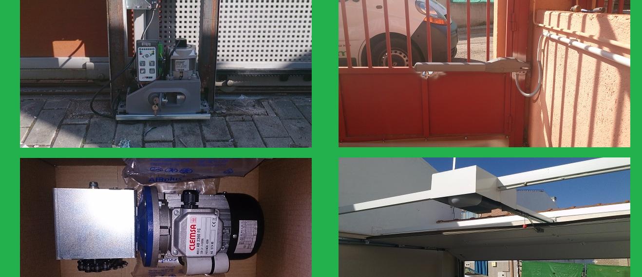 Tipos de motores eléctricos para puertas de garaje