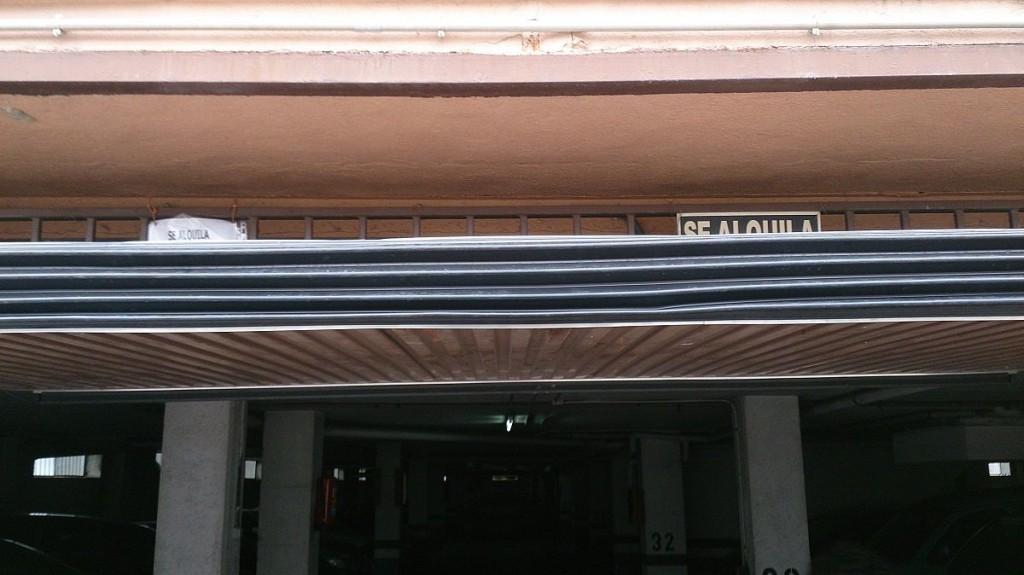 Sistema de seguridad de puertas de garaje