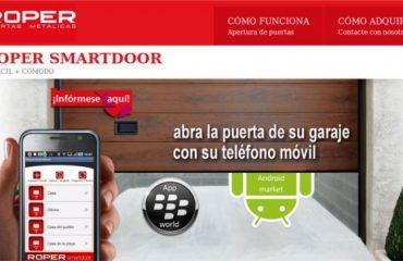 Aplicación para móvil Roper Smarhdoor